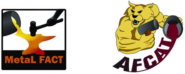 AFCAT & METALFACT Logos